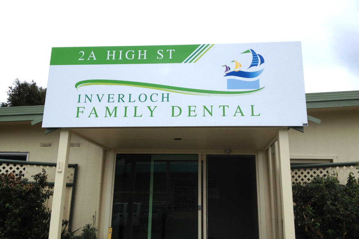 Fabricated Dental building signage in Inverloch