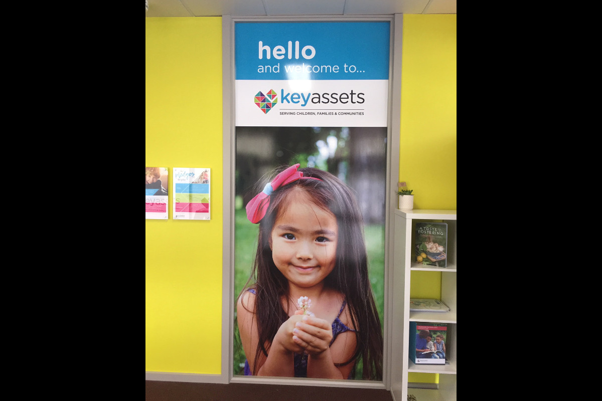 Digitally printed signage for childrens services by Signspec Signs