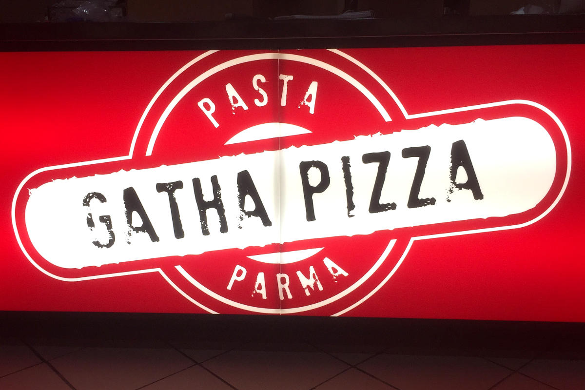 Pizza illuminated sign