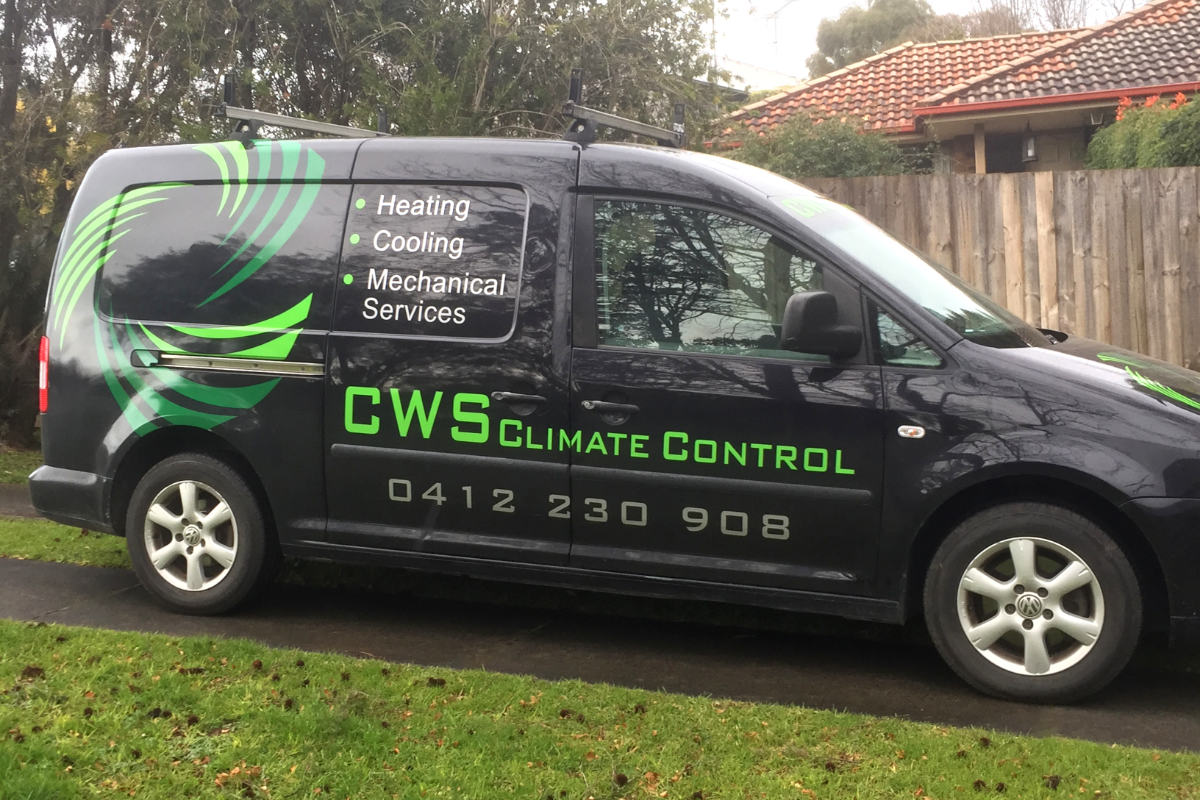 Climate control van signage by Signspec Signs 1