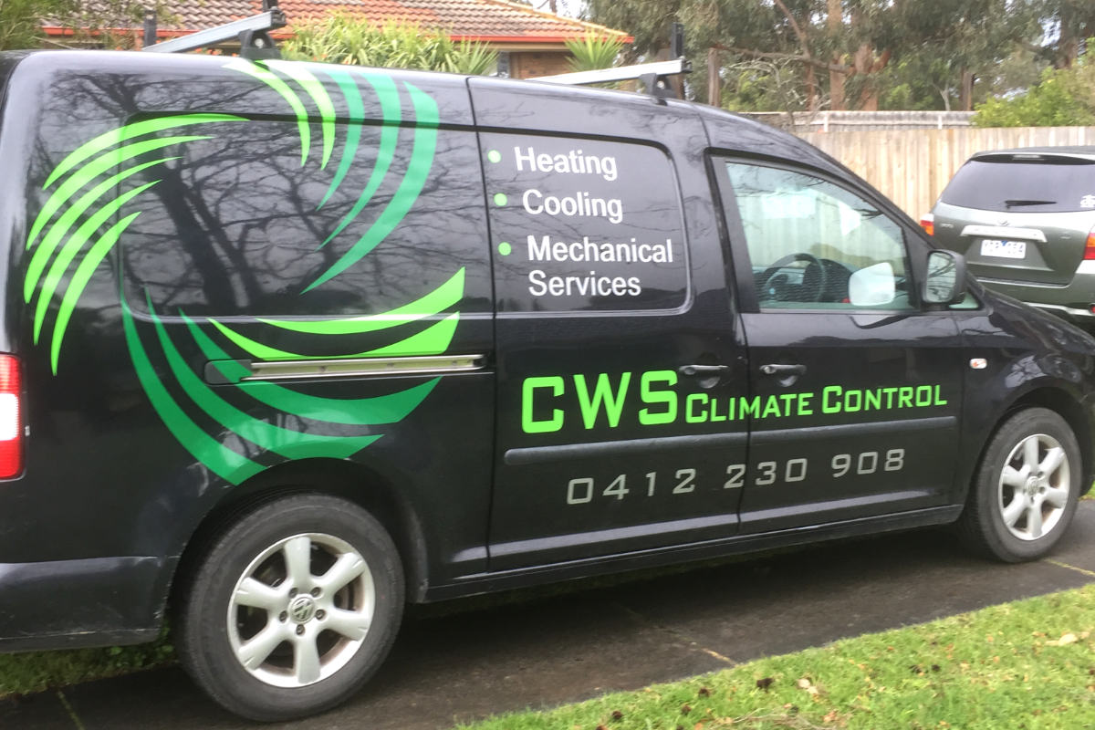 Climate control van signage by Signspec Signs 2
