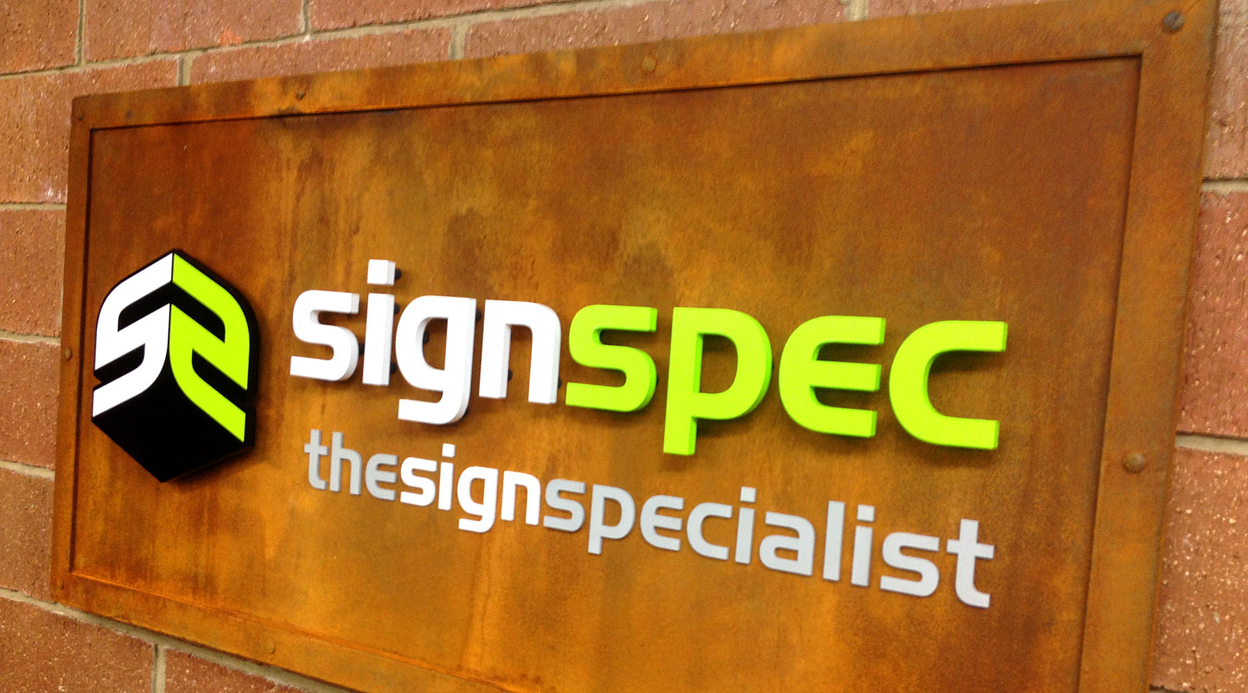 signspec the sign specialist reception sign